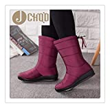 Best Disney Mens Snow Boots - rbhsg Winter Women Boots Mid-Calf Down Boots Girls Review