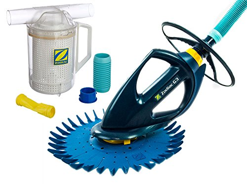 BARACUDA G3 W03000 Advanced Suction Side Automatic Pool Cleaner with Additional Diaphragm and Leaf Canister by Zodiac