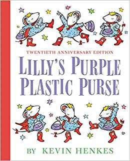 LILLY'S PURPLE PLASTIC PURSE 20TH ANNIVERSARY EDITION