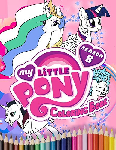 My Little Pony Coloring Book: Unique Jumbo Coloring Book With High Quality Images for kids ages 4-8]()