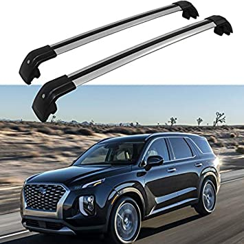 HEKA Cross Bar for KIA Telluride 2019 2020 Crossbar Roof Rail Rack Luggage