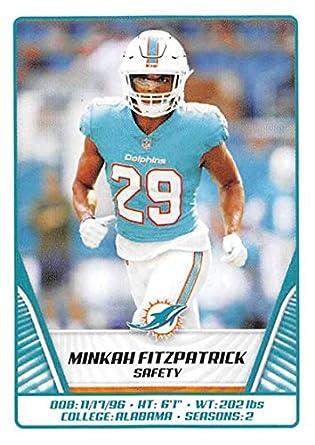 buy online bc984 80919 Amazon.com: 2019 Panini NFL Sticker #60 Minkah Fitzpatrick ...