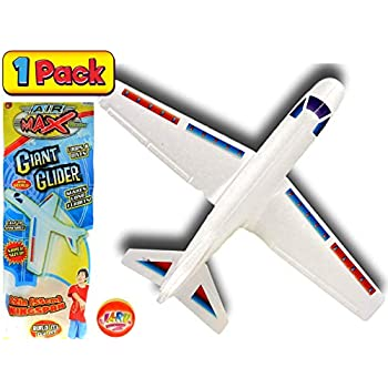 Amazon com: Planeur High Flying Styrofoam Gliders Wingspan