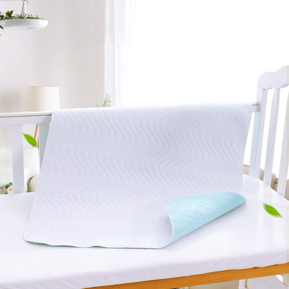 SUPVOX Crib Mattress Protector Waterproof Crib Mattress Cover Toddler Mattress Pad and Baby Bed Mattress Protector for Sleeping Playing