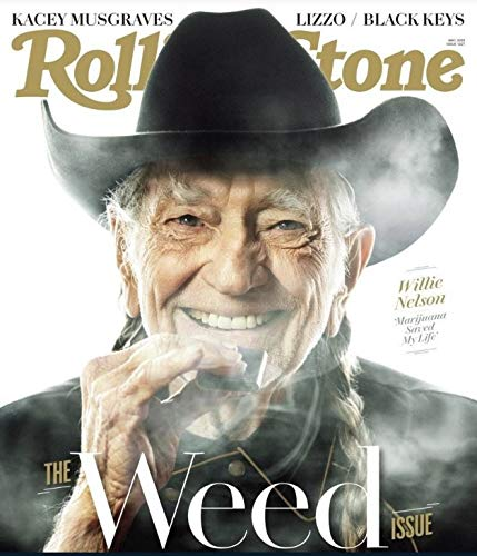 Rolling Stone Magazine (May, 2019) The Weed Issue Willie Nelson Cover