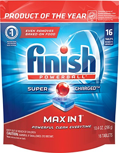 Finish Powerball Dishwasher Detergent Tablets