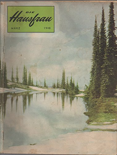 Die Hausfrau, vol. 44, no. 5 (März 1948 [March 1948]):