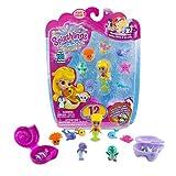 Splashlings Mermaid And Friends 12 Pack - 1 Mermaid, 9 Splashlings, And 2 Treasure Shells (Wave 1)