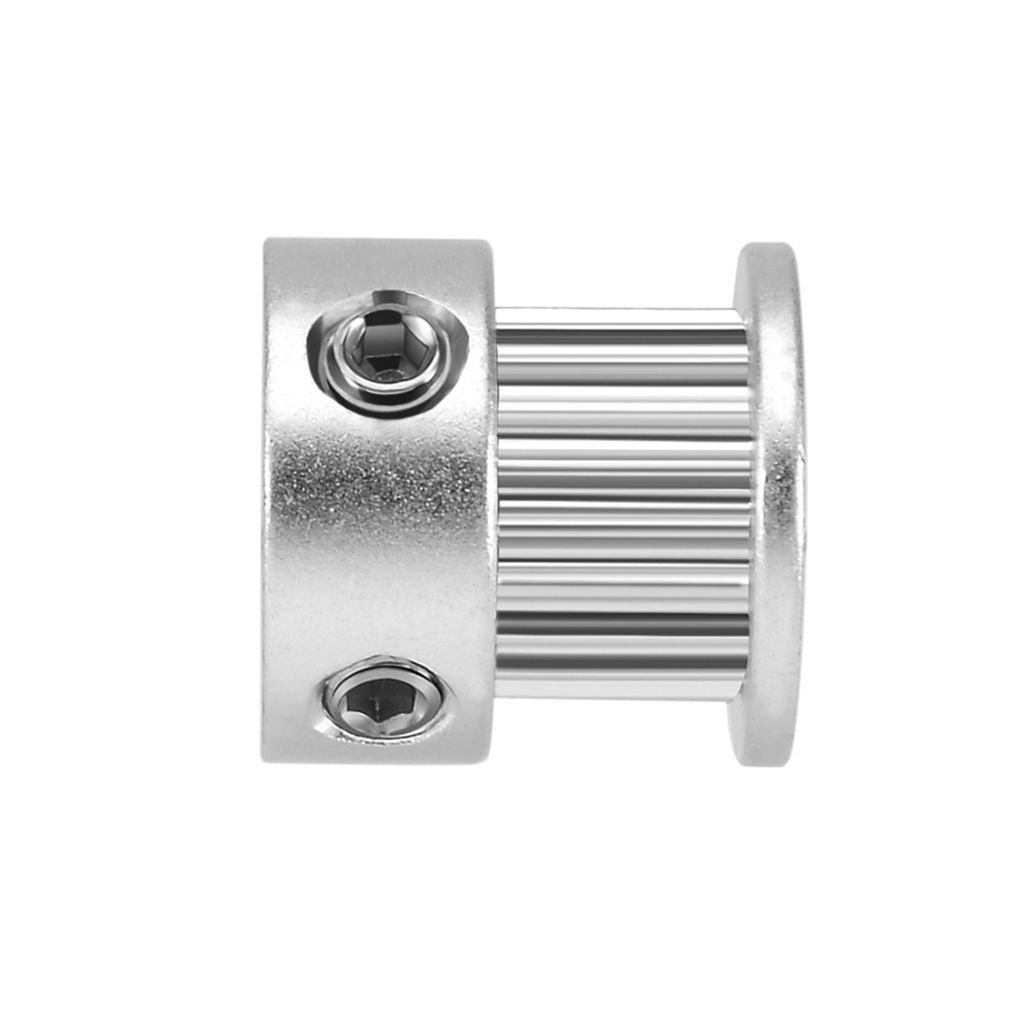 Uzinb 2GT 20 Teeth 5mm/6.35mm/8mm Bore Aluminium Alloy Idler Pulley Synchronous Wheel for 6mm Width Timing Belt