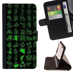 Momo Phone Case / Flip Funda de Cuero Case Cover - Patrón de Vault Boy;;;;;;;; - Sony Xperia Z3 D6603