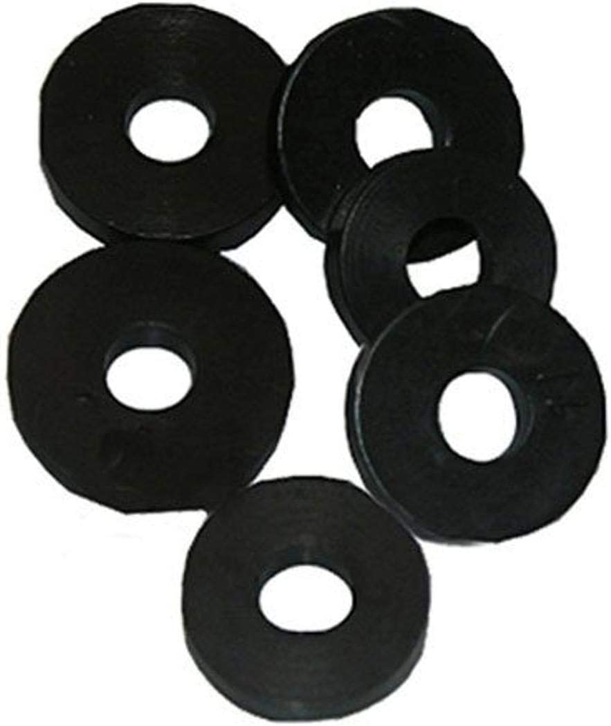 """Details about  /NOS 3//8/"""" L LAVELLE RUBBER CO 5 PACK BURLY FAUCET WASHERS"""