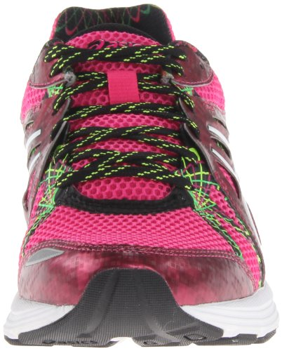 Asics - Zapatillas de running de sintético para mujer Amarillo Flash Yellow/White/Black - Hot Pink/White/Hot Pink