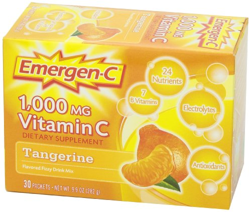 076314302024 - Emergen-C Vitamin C Drink Mix Packets Tangerine 30 Each (Pack of 6) carousel main 9