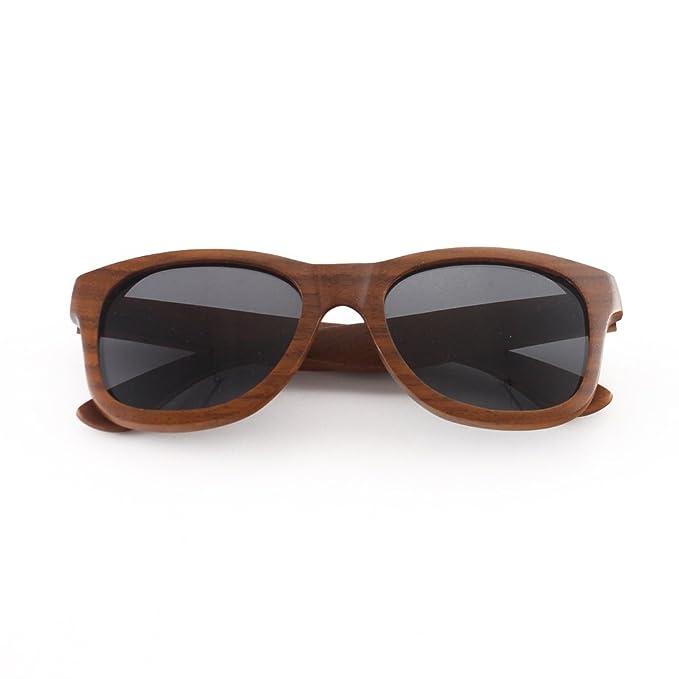 oayawl hecho a mano madera de madera natural de nogal gafas ...