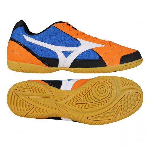 Mizuno Zapatilla Sala 2 IN Mango-Blanca-Royal - orange - blue - black