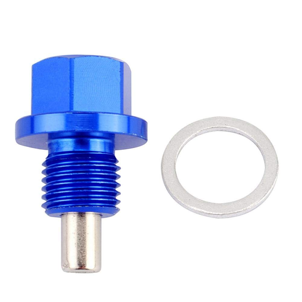 Magnetic Oil Sump Nut Drain M12*1.25 M12*1.5 M14*1.25 Oil Plug Oil Drain Magnetic Oil Plug Nut for Toyota//Nissan Gold M16x1.5