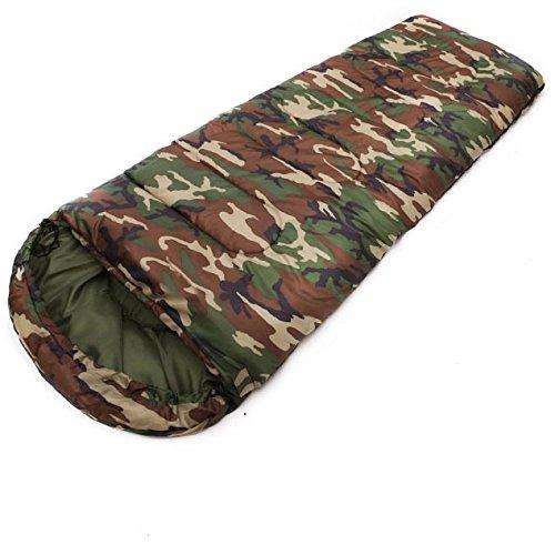 ZHUDJ Sacs De Couchage, Des Enveloppes, Des Chapeaux, Des Sacs De Couchage, 1,3Kg De Camouflage, Imprimé Sacs De Couchage, Piscine En Plein Air (18030), *75 (Cm)