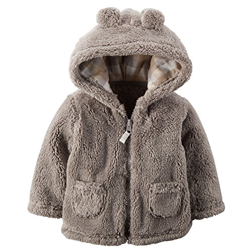 Carters Baby Clothing Outfit Boys Hooded Sherpa Jacket