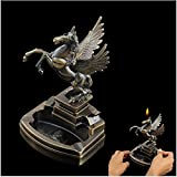 BERTERI Metal Ashtray Lighters Gifts Craft Gifts Decorations,Tobacco Tray