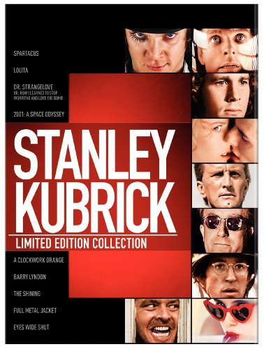 Stanley Kubrick: Limited Edition Collection (Spartacus / Lolita / Dr. Strangelove / 2001: A Space Odyssey / A Clockwork Orange / Barry Lyndon / The Shining / Full Metal Jacket / Eyes Wide Shut) [Blu-ray] by Warner Bros