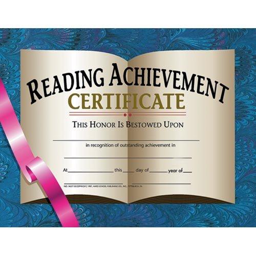 Reading Achievement (Reading Achievement Certificate)
