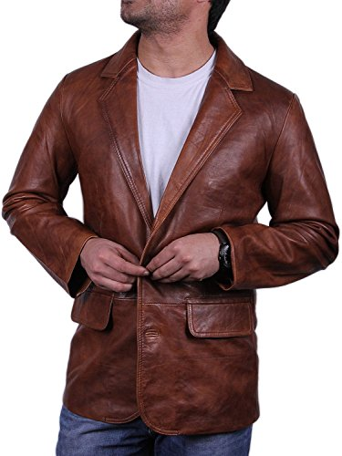 Leather Sport Coat - 6
