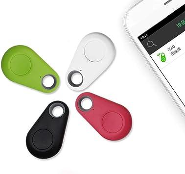 lindames Dispositivo inal/ámbrico con Sensor de Alarma antip/érdida para ni/ños Perros Monedero para Coche Rastreador GPS Inteligente Inform/ática
