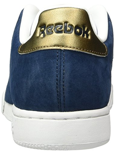 Reebok NPC II Metallics, Zapatillas para Hombre, Azul (Collegiate Navy/Antique Copper), 41 EU