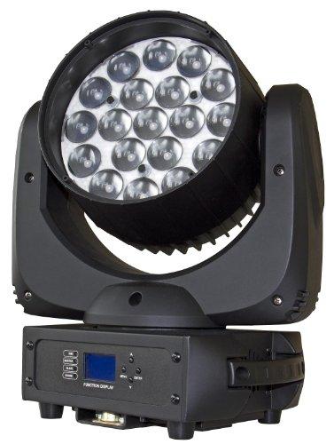 Briteq W19L10 BT-19 ZOOM Lira lavar LEDs negros