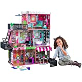 KidKraft 65922 Brooklyn's Loft Dollhouse, Multi