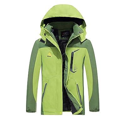 9785d4d49f MYIFU Women s Mountain Waterproof Fleece Ski Jacket Windproof Rain Jacket