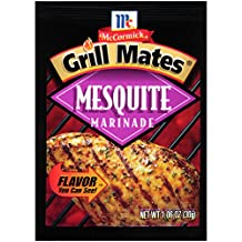 Grill Mates Mesquite Marinade, 1.06-Ounce (Pack of 12)