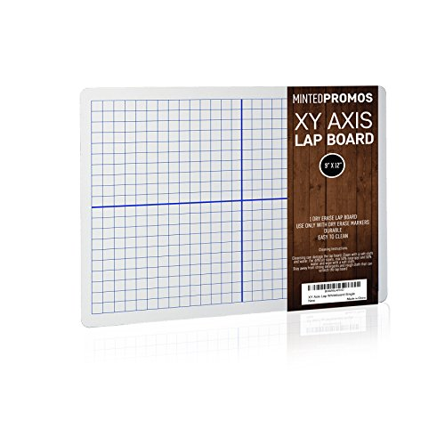 "SCRIBBLEDO Dry Erase XY Axis Lap Board 9""X12"" 