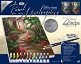 Royal & Langnickel Paint Your Own Masterpiece Painting Set, Tropical Garden