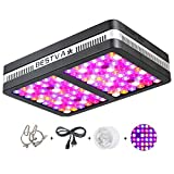 BESTVA Reflector Series 1200W LED Grow Light Full Spectrum Grow Lamp for Hydroponic Indoor Plants Veg and Flower (Elite-1200w) Review