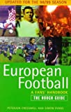 img - for European football, a fan's handbook - the rough guide book / textbook / text book