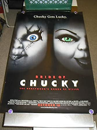 BRIDE OF CHUCKY /ORIG. U.S. ONE SHEET MOVIE POSTER (BRAD DOURIF)