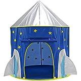 Yihiro キッズテント お城 入って遊べる 子供テント キッズハウス 秘密基地 組立て 簡単 収納ケース付 屋内・屋外用 おもちゃ 誕生日 プレゼント
