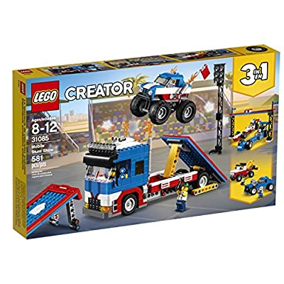 LEGO Creator 3in1 Mobile Stunt Show 31085 Building Kit (580 Piece): Toys & Games