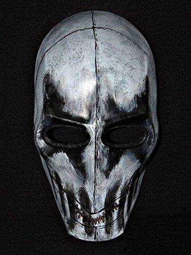 Custom Army of Two Halloween Costume Cosplay BB Gun Paintball Airsoft Mask Salem S2 Mushroomhead zipper MA86 am]()
