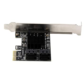 perfk Adaptador SATA III 6 Gbps Tarjeta Controladora PCI ...