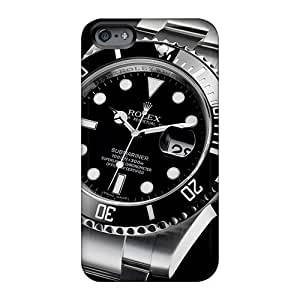 Apple Iphone 6 YAq6134oAWK Allow Personal Design Lifelike Rolex Submariner 116610 Watches Classic Pictures Scratch Resistant Hard Cell-phone Case -casesbest88