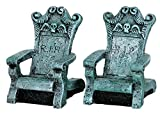 Lemax Spooky Town Tombstone Chairs, Set of 2 #34615