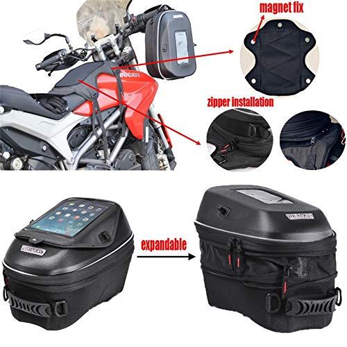 (SOMITI | Tank Bags | for BMW R 1200 GS/1150 RT/1200 R/BMW R 1150 R/BMW S 1000 XR/K 1200 RS Oil Fuel Tank Bag Waterproof Racing Package)