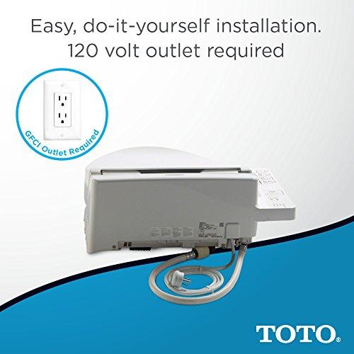 Electronic Bidet Toilet Soft Close Lid Elongated Seat