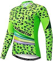 Cycling Jersey Women's Long Sleeve Bike Jacket Biking Shirt Bicycle Clot