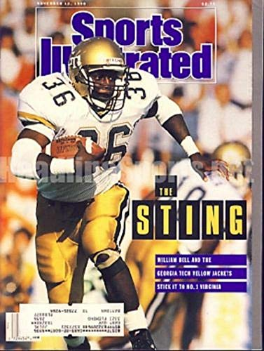 1990 William Bell Georgia Tech Yellowjackets Sports Illustrated 1990 Georgia Tech Yellow Jackets