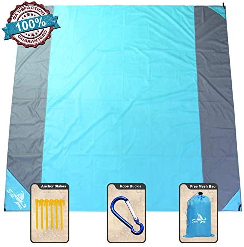 NS Sandfree Portable Waterproof Blue Gray
