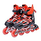 Children Skates Shoes Classic Sets Dual Purpose Roller Skates Shoes with siez L can Adustable and Breathable