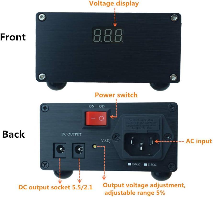 25VA DC 5V bench Linear Power Supply audiophile,desktop Power adapter Regulate 5 Volt 3A 4A for Raspberry pi 3 Model A Plus Micro USB B B